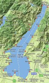 mapa di Garda