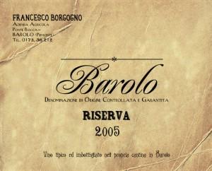 Barolo Borgogno