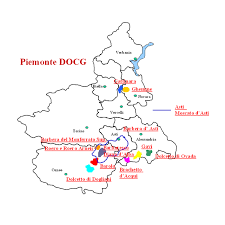 mapa piemonte